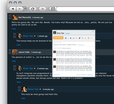 Disqus Screenshot