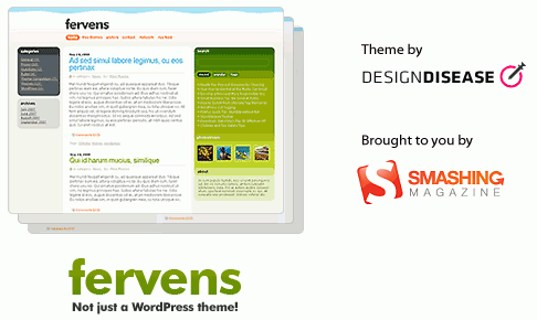 Thème WordPress : Fervens