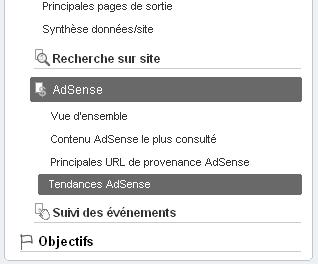 Intégration Google AdSense dans Google Analytics