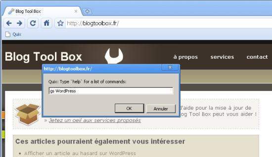 Quix Screen